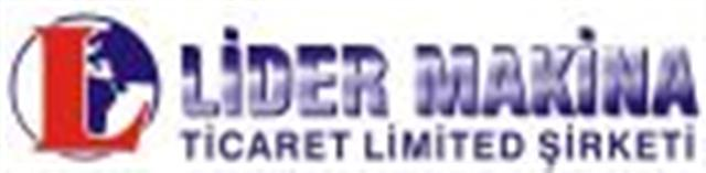 Lider Makina Tic.Ltd.Şti.